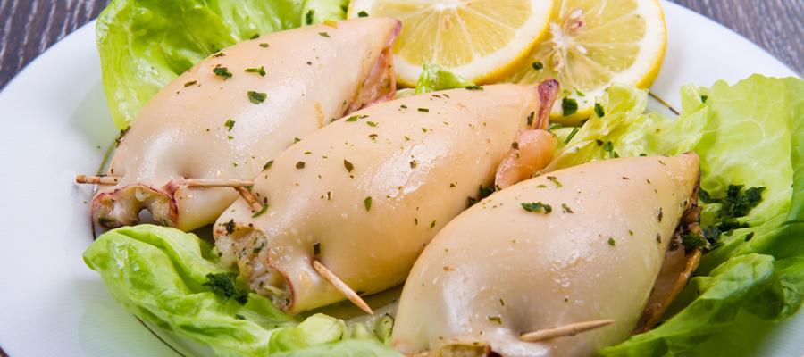 Les calamars à la niçoise